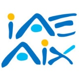 logo IAE Aix-Marseille : Institut d'administration des entreprises